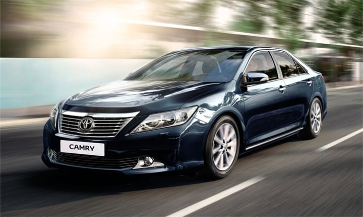 Hire Toyota Camry 50 in Odessa